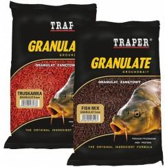 Прикормка TRAPER GRANULAT 3 mm / 1 kг (в ассортименте)